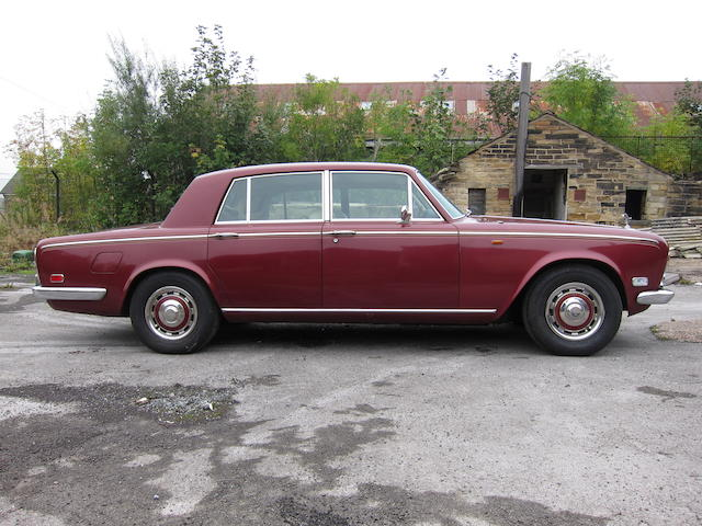 1975 Rolls-Royce Silver Shadow Saloon  Chassis no. TBC Engine no. TBC