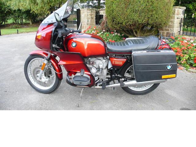 1978 BMW 980cc R100RS Frame no. 6063077 Engine no. 6063077