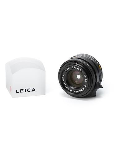 Summilcron M ASPH 35mm f/2 lens, 2002,
