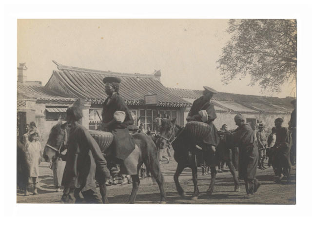 CHINA. A good group of 50 views relating to Peking, including a visit by the Dalai Lama in 1907 (50)