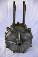 A single cylinder de Dion Bouton crankcase number 12187, circa 1899-1900,