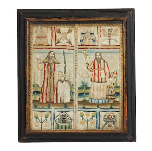 A 17th century needlework picture