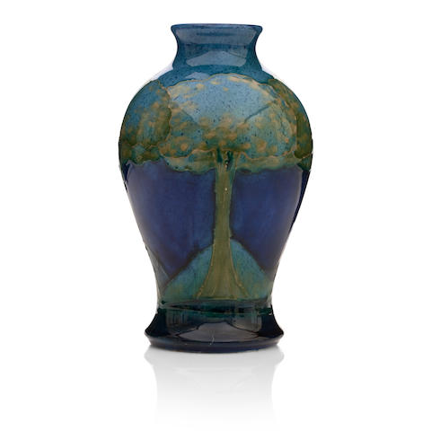 A William Moorcroft 'Moonlit Blue' vase Circa 1924