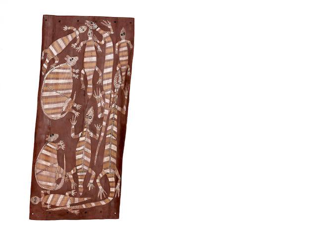 Mick Kubarkku (circa 1925-2008) Totemic Clan Creatures