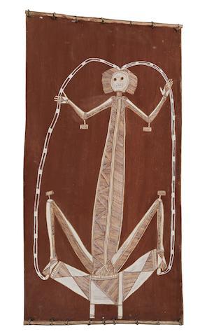 Lofty Bardayal Nadjamerrek (1926-2009) Lightning Spirit (Namarrkon)