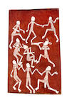 Lofty Bardayal Nadjamerrek (1926-2009) Mimih Spirits Dancing 1981