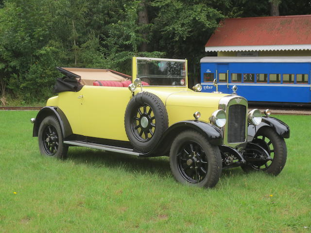 1925 Austin 20hp Drophead Coupé  Chassis no. 3TT6852 Engine no. 5PL11902