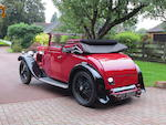 1932 Alvis 12/50hp Doctor's Coupé  Chassis no. 9746 Engine no. to be advised