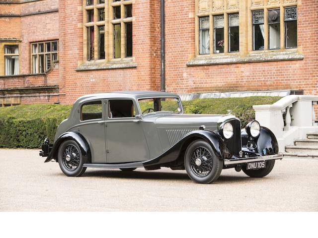 1936 Bentley 4¼-Litre Sports Saloon  Chassis no. B170HK Engine no. J7BZ