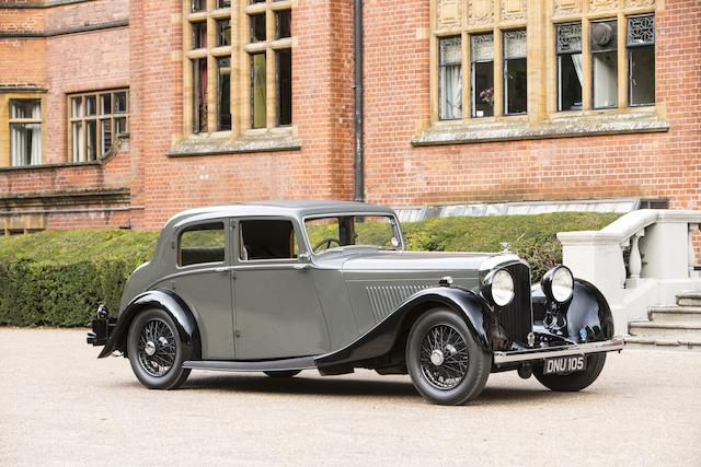 1936 Bentley 4¼-Litre Sports Saloon  Chassis no. B170HK Engine no. J7BZ