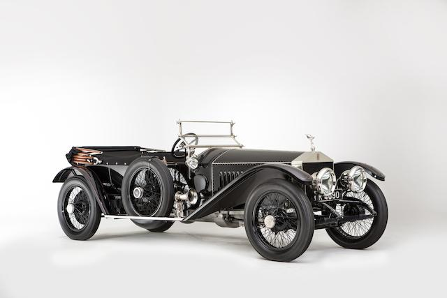 1912 Rolls-Royce 40/50hp Silver Ghost 'London-to-Edinburgh'  Light Tourer  Chassis no. 2015 Engine no. 8