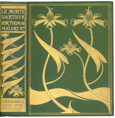 BEARDSLEY (AUBREY) - MALORY (THOMAS) [Le Morte Darthur], [1909]; Salome, translated by Oscar Wilde, 1912; The Yellow Book, An Illustrated Quarterly, vol. I-III, 1894; and 10 others, largely concerning Beardsley and Wilde (15)