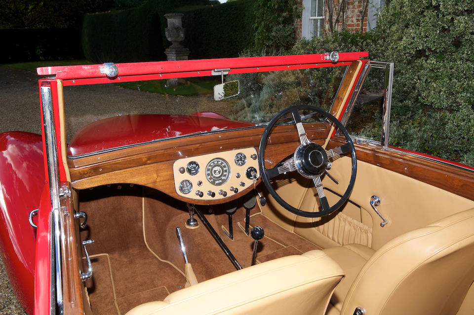 1948 Allard M-Series Drophead Coupé  Chassis no. 705 Engine no. 7200726