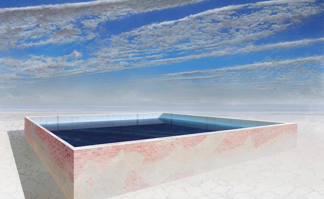Tim Storrier (born 1949) Interior Water
