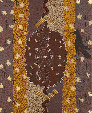 Clifford Possum Tjapaltjarri (circa 1930-2002) Arinkarakaraka, 1983