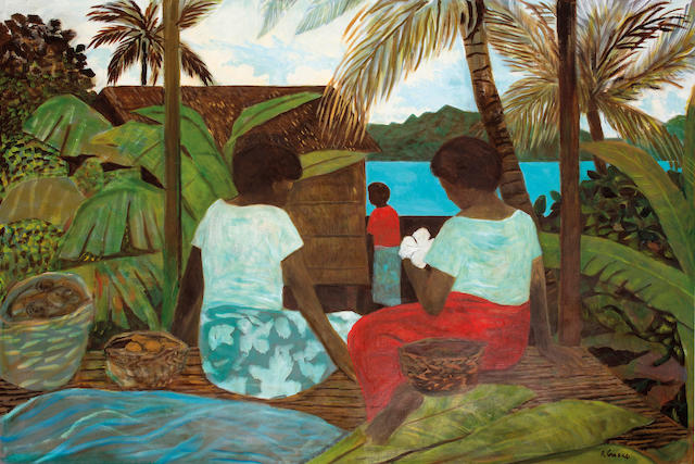 Ray Crooke (born 1922) Towards the Island, 1986