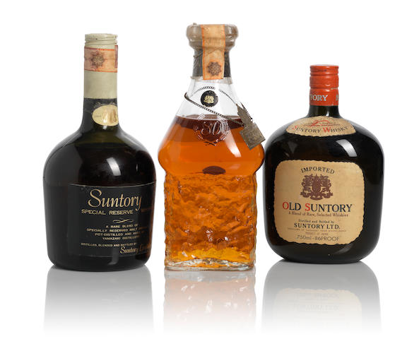 Old Suntory Blended Whisky (1)   Suntory Whisky Excellence (1)   Suntory Special Reserve Whisky (1)
