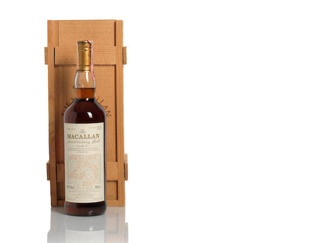 The Macallan Anniversary-1972-25 year old
