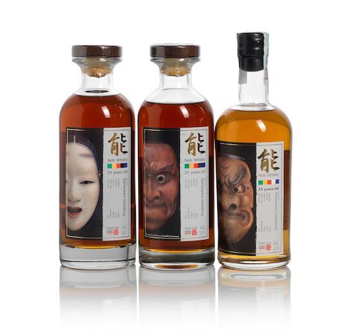 Karuizawa-1983-29 year old-Noh (1)   Karuizawa-1989-23 year old-Noh (1)   Karuizawa-1994-15 year old-Noh (1)