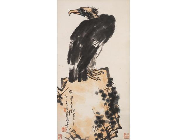 Pan Tianshou (1897-1971) Almighty Gaze