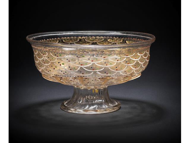 A fine Venetian footed bowl, early 16th century