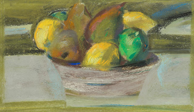 Sir Robin Philipson RA PRSA FRSA RSW RGI DLitt LLD (British, 1916-1992) Bowl of Fruit