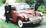 The ex-Sophie Rhys-Jones,1968 Morris Minor 1000 Saloon  Chassis no. M/A2S5D.1203990 Engine no. 10-MA-U-H 29491