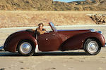 The ex-Jim Bergerac/BBC TV Series,1949 Triumph Roadster 2000 Convertible  Chassis no. TRA 339 Engine no. V365361E