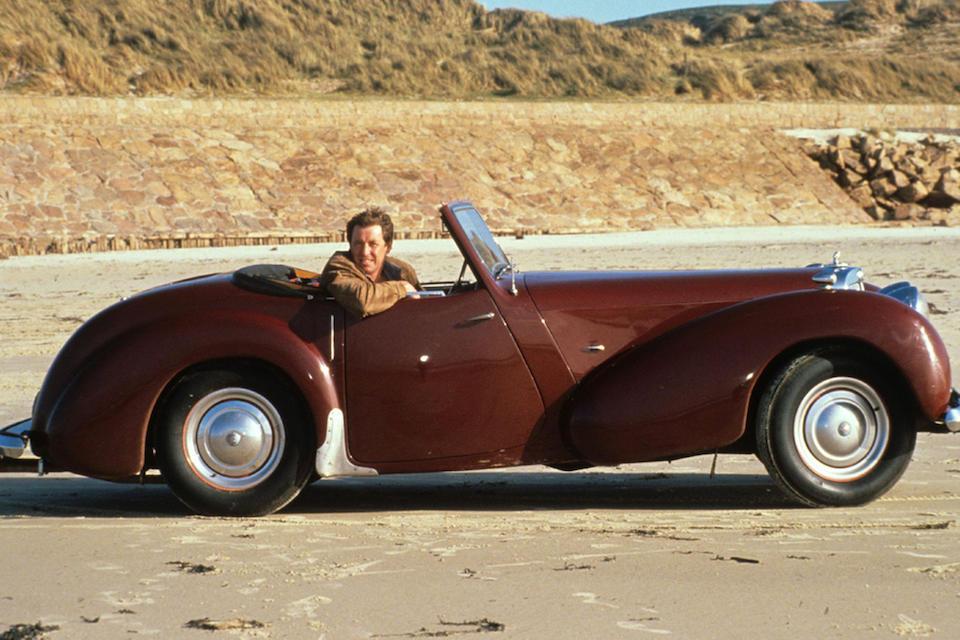 The ex-Jim Bergerac/BBC TV Series,1949 Triumph Roadster 2000 Convertible  Chassis no. TRA 339 Engine no. V365361E