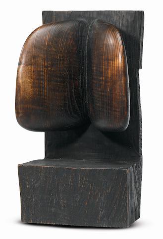 Wang Keping (Chinese, born 1949) Untitled 41.2 x 19 x 12cm (16¼ x 7½ x 4¾in).