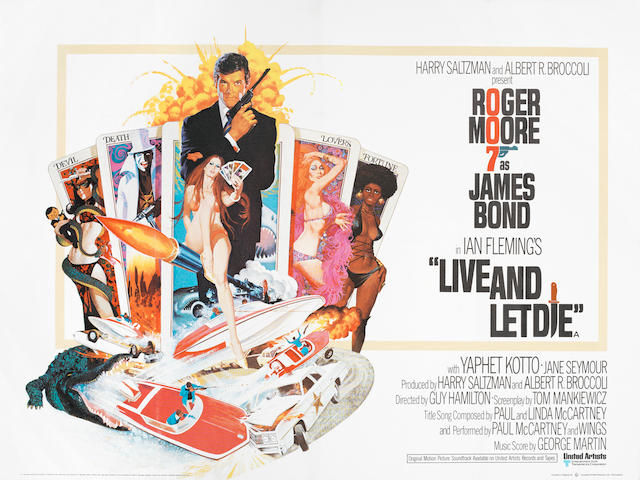 James Bond: Live And Let Die, Eon / United Artists, 1974,