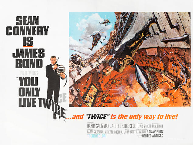 James Bond: You Only Live Twice, Eon / United Artists, 1967,