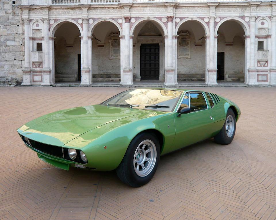 'The Most Original Car', Salon Privé Concours d'Élégance, 2012,1970 De Tomaso Mangusta Coupé  Chassis no. 8MA-1216