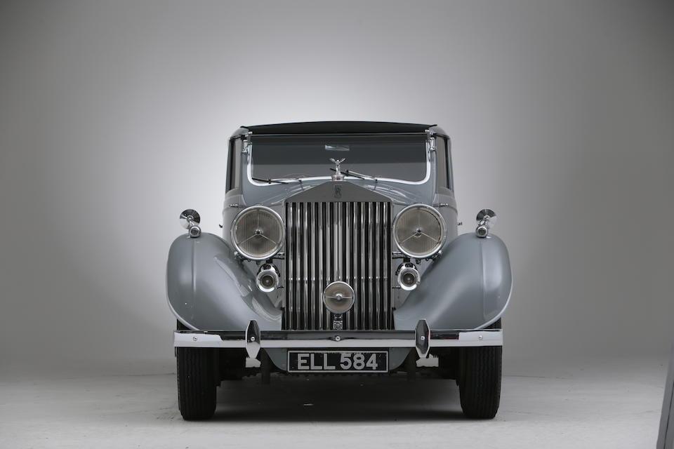 1937 Rolls-Royce Phantom III Sports Sedanca de Ville  Chassis no. 3CP62 Engine no. C68Z