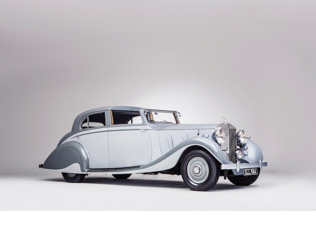 1937 Rolls-Royce Phantom III Sports Sedanca de Ville  Chassis no. 3CP62 Engine no. C68Z