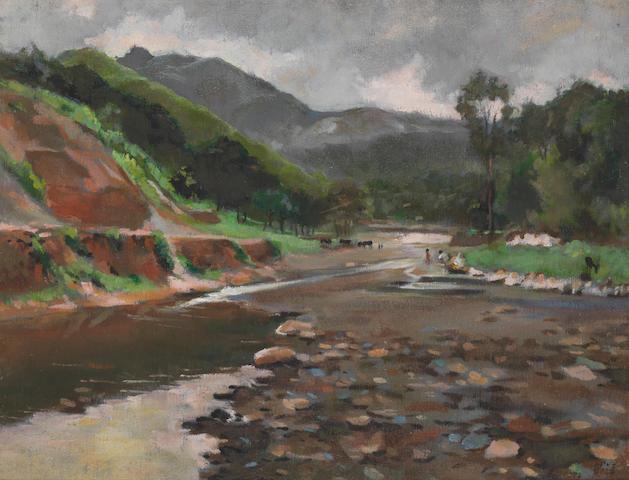 Dai Ze (Chinese, b.1922) Scenery