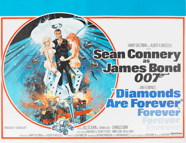 James Bond: Diamonds Are Forever, Eon / United Artists, 1971,