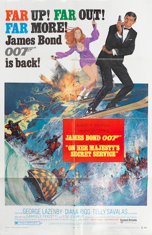 James Bond: On Her Majesty's Secret Service,  Eon / United Artists, 1969, 2
