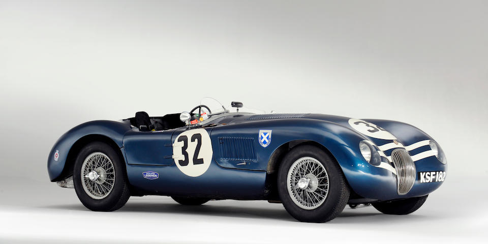 The Ex-Jimmy Stewart, Ninian Sanderson, Jock Lawrence, Sir James Scott-Douglas, Frank Curtis,1952 Jaguar C-Type Two-Seat Sports Racing Roadster  Chassis no. XKC 042 Engine no. E1042-8