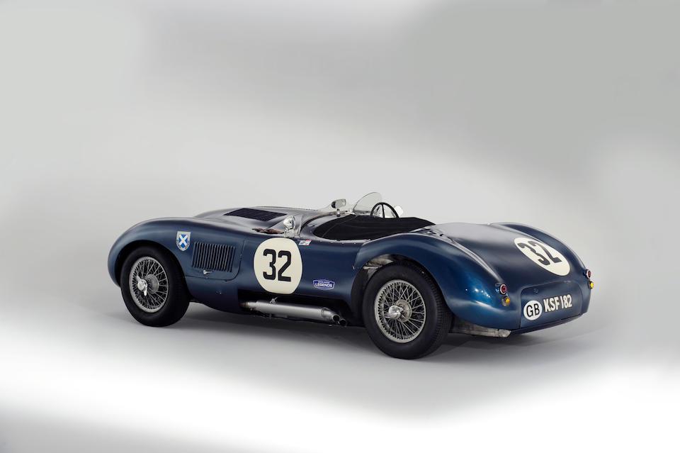 The Ex-Jimmy Stewart, Ninian Sanderson, Jock Lawrence, Sir James Scott-Douglas, Frank Curtis,1952 Jaguar C-Type Two-Seat Sports Racing Roadster  Chassis no. XKC 042 Engine no. E1042-8