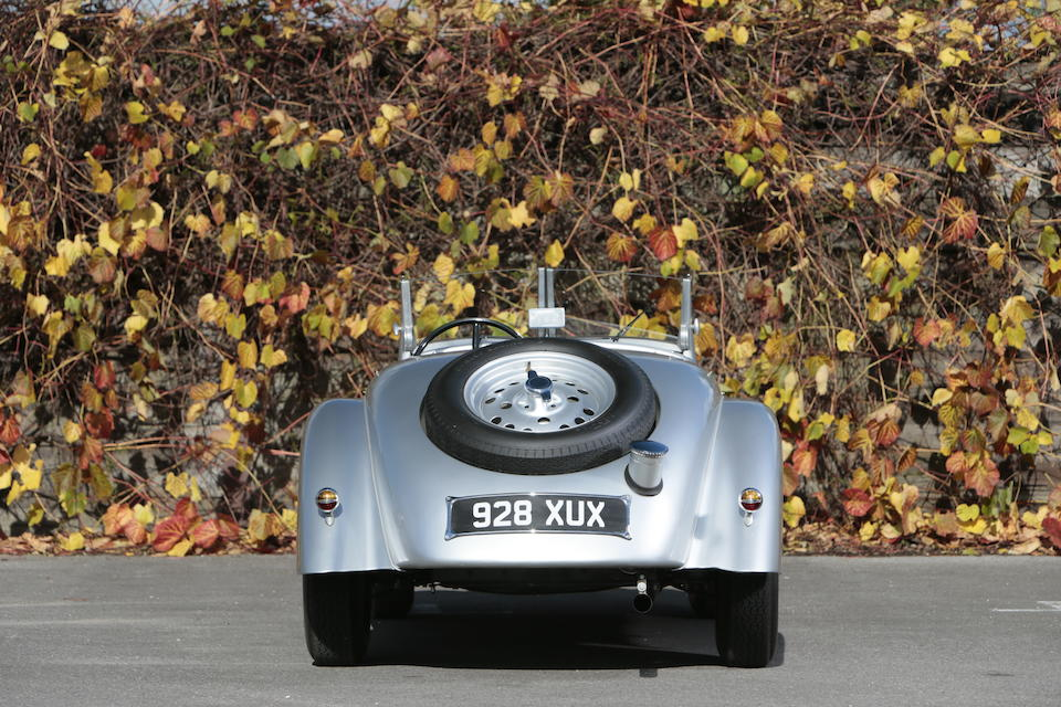 1938 BMW 328 Sports Two-Seater, Chassis no. 85302 Engine no. 85302