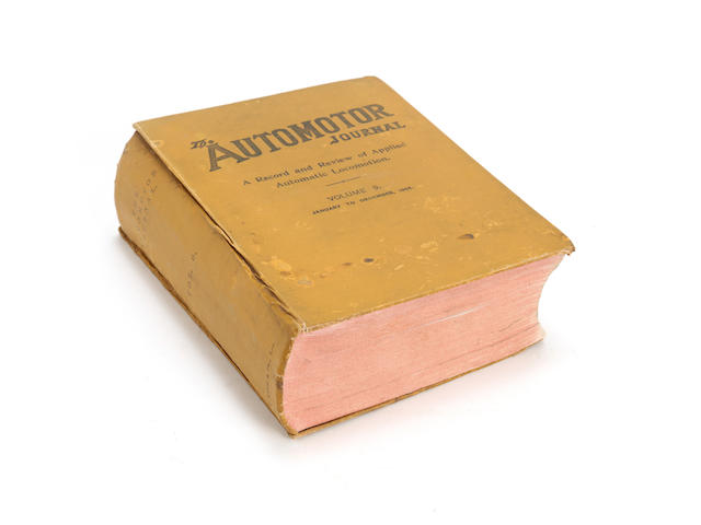 The Automotor Journal, Volume 9, 1904,