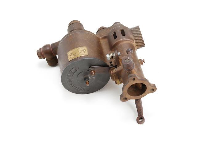 A De Dion-Bouton 'Zenith' carburettor,