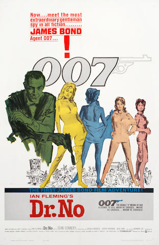 James Bond: Dr. No, Eon / United Artists, 1962,