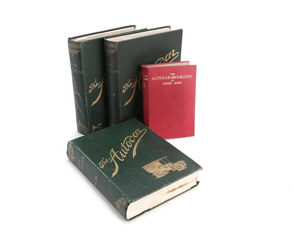 The Autocar; bound Volumes 10-12 (1903-1904),