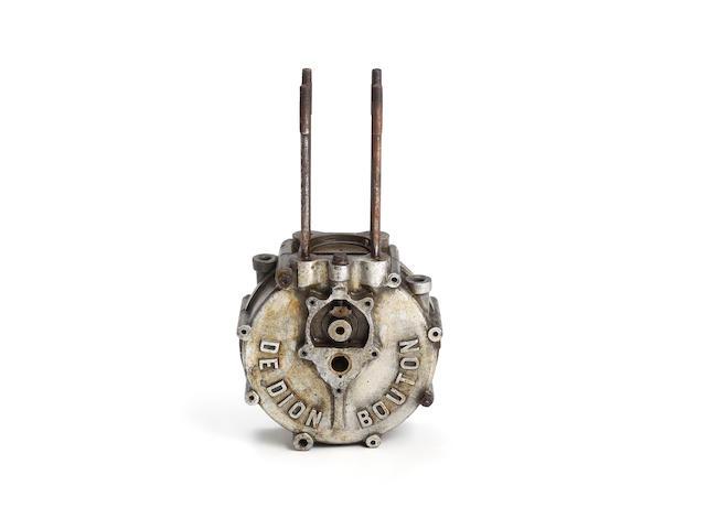 A single cylinder de Dion Bouton crankcase number 12187, circa 1899-1900,