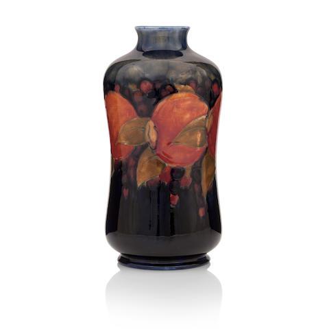 A William Moorcroft 'Pomegrantate' vase Circa 1920