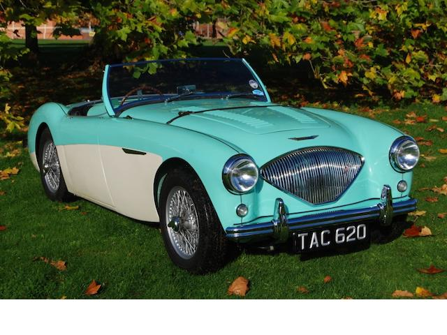 The ex-Earls Court Motor Show demonstrator,1955 Austin-Healey 100M Roadster  Chassis no. BN2/228897 Engine no. 228897M