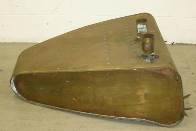 A fuel tank to fit Grand Prix Bugatti, Types 51, 54 and 55,
