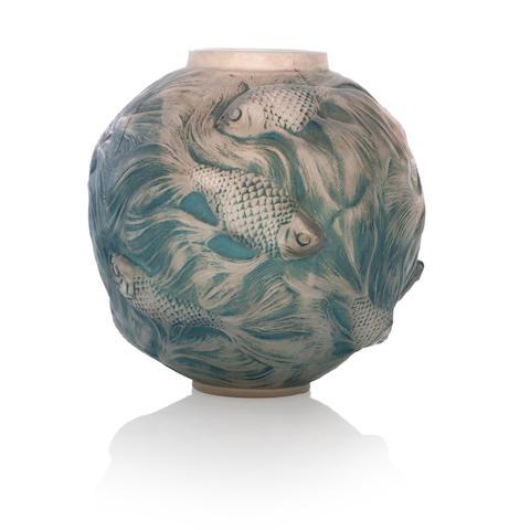 A René Lalique 'Formose' vase Design 1924